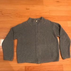"""Indigenous """"One Weave"""" Organic Sweater Size L"""